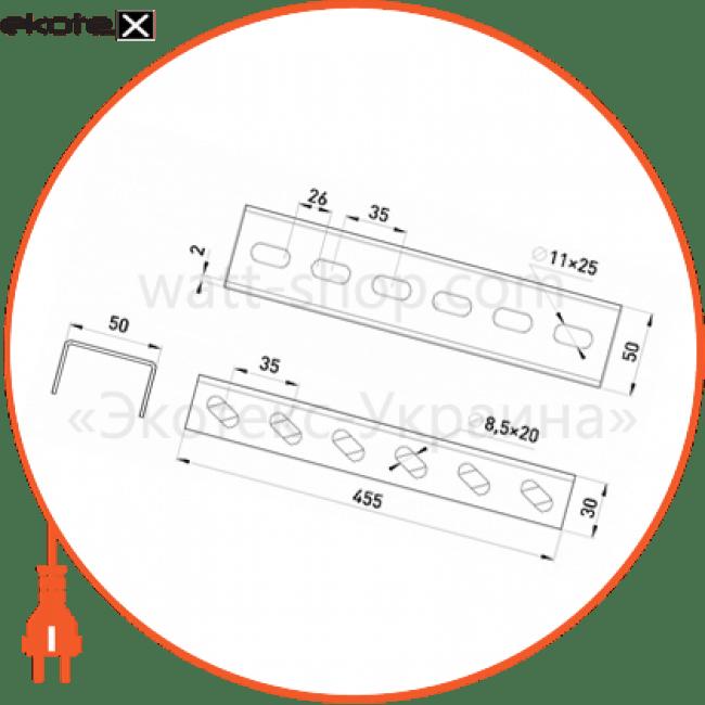 A5-4-40 Enext лотки металлические и аксессуары тримач лотка 455 мм знизу