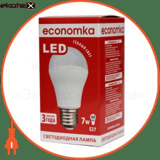 led лампа economka led a60 7w e27-2800 светодиодные лампы экономка Экономка LED A60 7w E27-2800