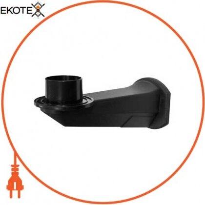 Enext l0120064 крепление настенное для светильника типа шар e.street.wall.pc.black, черное