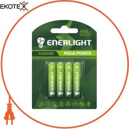 Enerlight 90030104 батарейка enerlight mega power aaa bli 4