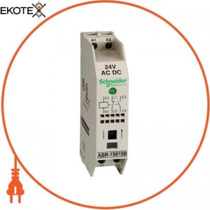Schneider ABR1S618B интерфейс вых 1нз+1но 24в +светодиод