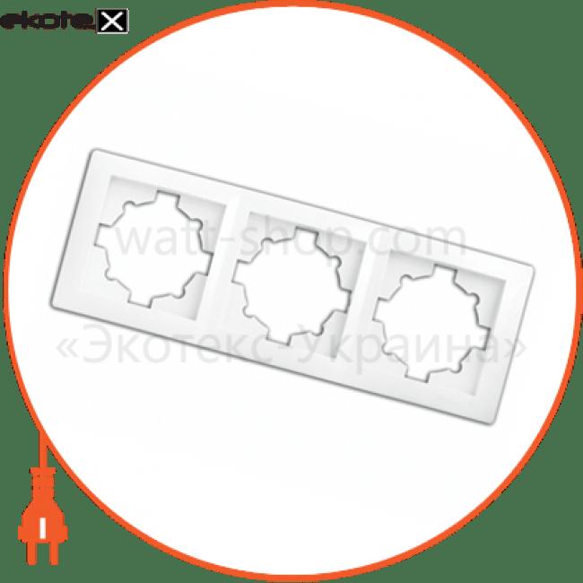 рамка wega 9303 3-секційна крем рамка Delux 10040371