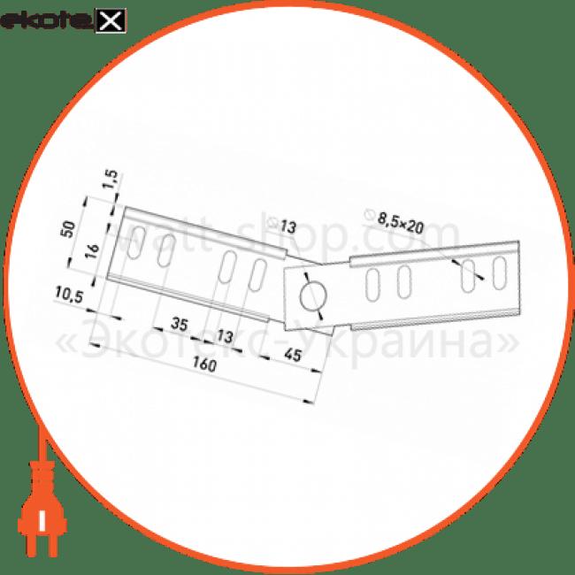 901-5A Enext лотки металлические и аксессуары шарнірний з'єднувач 50 мм