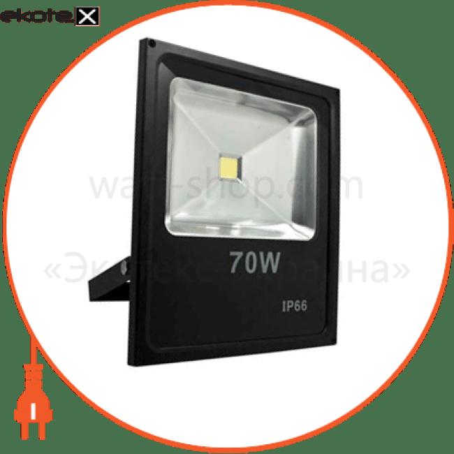 ll-840 1led 70w белый 6400k 230v (335*70*290mm) черный ip 65 светодиодные светильники feron Feron 12973