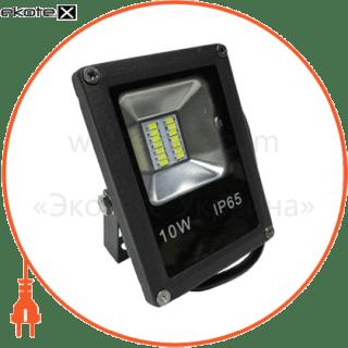 прожектор led_alfa_smd_10w_4000к_чорний (08768) светодиодные светильники optima Optima 8768