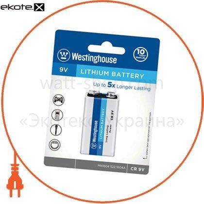 Westinghouse CR9V-BP1 литиевая батарейка (крона) westinghouse lithium  cr9v 1шт/уп blister