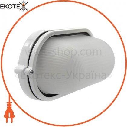Sokol 89163 светильник банник sokol led-wpe 10w aluminium 1000lm 6500k ip44 овал
