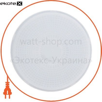 Ecostrum 71776 светильник круг нпп-60 (02) (бел.опал)