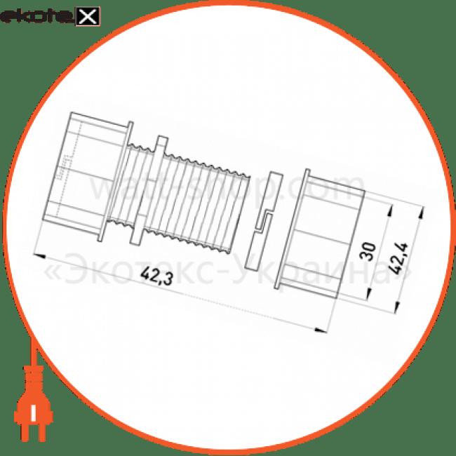 "з'єднувач металевий e.industrial.pipe.connect.collet.1"", цанговий трубы металлические и аксессуары Enext i0430003"