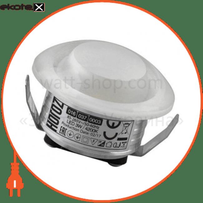 """светильник """"rita"""" 1w 4200k светодиодные светильники horoz eelectric Horoz Eelectric 016-037-0003"""