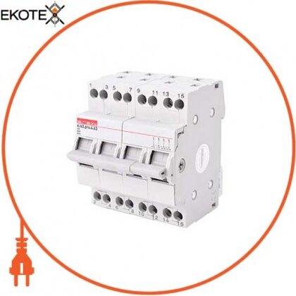 Enext p008016 выключатель на din-рейку на три положения e.is3.pro.4.63, 4р, 63а