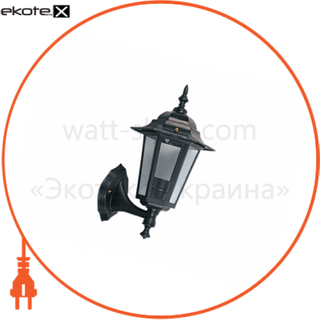 світильник садово-парковий palace a01 60вт е27 чорний садово-парковые светильники Delux 10008439