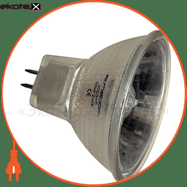 лампа галогенна e.halogen.jcdr.g5.3.220.35, патрон g5.3, 220v, 35w, mr16 галогенные лампы enext Enext l004016