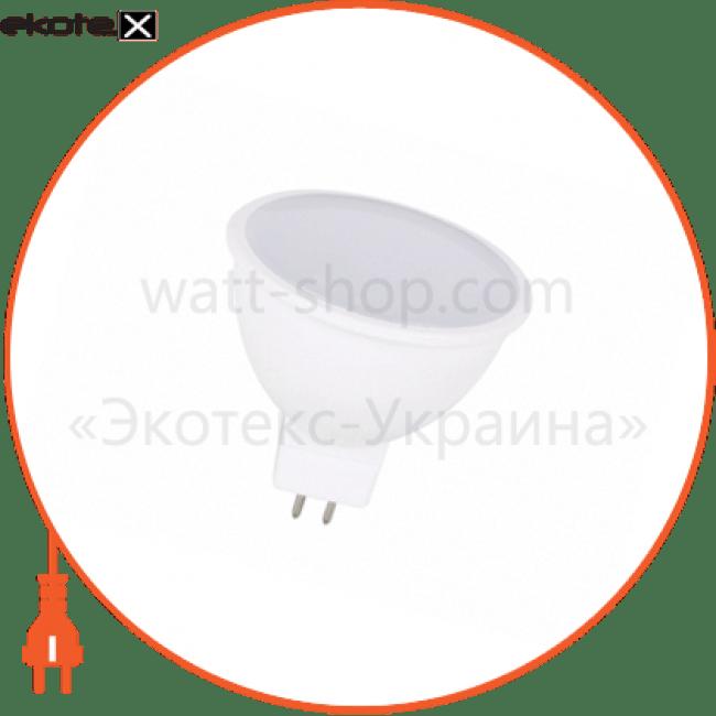 лампа світлодіодна delux jcdr 7вт 4100k 220в gu5.3 білий светодиодные лампы delux Delux 90006128