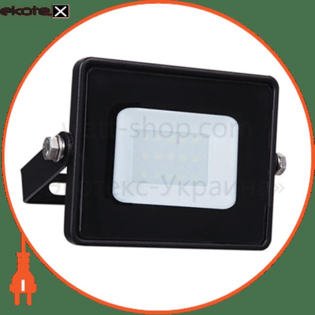 ll-991 10w 6400k 230v (127*113*31mm) черный ip 65 светодиодные светильники feron Feron 29619