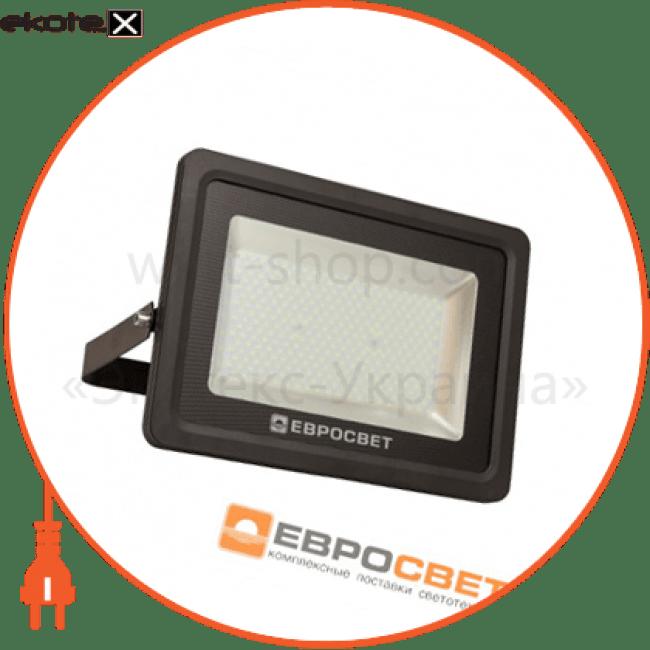 прожектор evro light ev-150-01 150w 180-260v 6400k 13500lm sanan smd нм светодиодные светильники евросвет Евросвет 39422