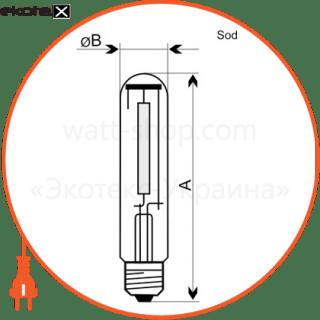 лампа натриевая ds-150t/2000k e40  - a-ds-0210 газоразрядные лампы electrum Electrum A-DS-0210