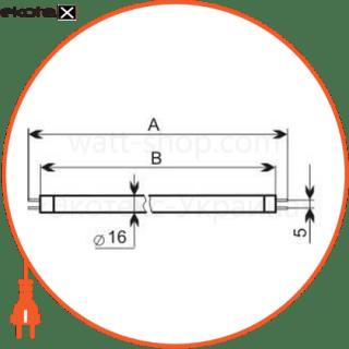 лампа люминесцентная 4/у-ф g5  - a-ft-0799 люминесцентные лампы electrum Electrum A-FT-0799