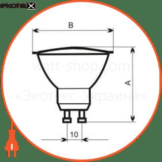 лампа галогенная 230v 35w 40гр gu10  - a-hd-0064