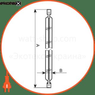лампа линейная 117,6mm 100w r7s  - a-hl-0056 галогенные лампы electrum Electrum