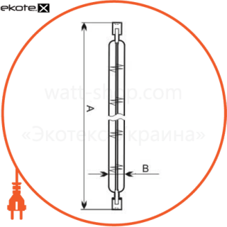 лампа линейная 117,6mm 150w r7s  - a-hl-0057 галогенные лампы electrum Electrum