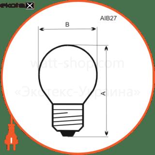 лампа шар 60w e27  - a-ib-0034 лампы накаливания electrum Electrum