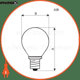 лампа шар 40w e14  - a-ib-0036 лампы накаливания electrum Electrum