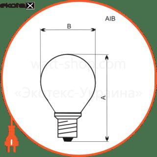 A-IB-0037 Electrum лампы накаливания electrum g45 40w e14 мат.