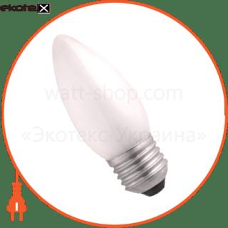 лампа свеча 60w e27 мат.  - a-ic-0386 лампы накаливания electrum Electrum