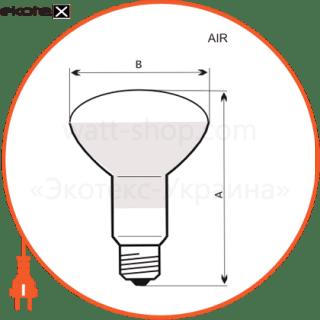 лампа рефлекторная r63 40w e27 мат.  - a-ir-0042 лампы накаливания electrum Electrum