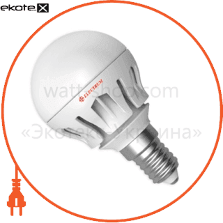 лампа светодиодная шар lb-14 6w e14 2700k алюм. корп. a-lb-0305 светодиодные лампы electrum Electrum A-LB-0305