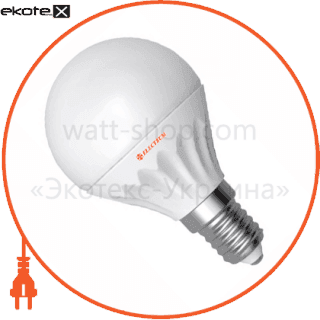 led лампа d45 4w lb- 8 е14 4000к мат.керам./к. electrum светодиодные лампы electrum Electrum