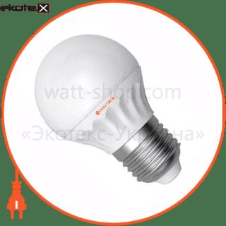 led лампа d45 4w lb- 8 е27 4000к мат.керам./к. electrum светодиодные лампы electrum Electrum