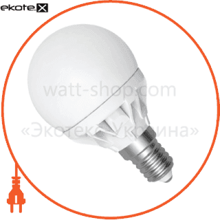 led лампа d45 4w lb-9 е14 4000к мат.керам./к. electrum светодиодные лампы electrum Electrum A-LB-0943