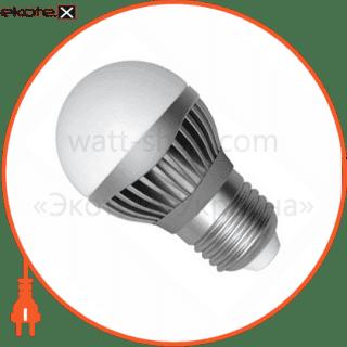 led лампа d45 5w lb-11 е27 2700к мат.ал./к. electrum светодиодные лампы electrum Electrum A-LB-1696