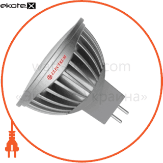 лампа светодиодная mr16 lr-c 6w gu5.3 4000k алюм. корп.  a-lr-0939 светодиодные лампы electrum Electrum A-LR-0939