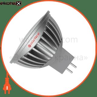 led лампа mr16 5w lr-20 gu5.3 2700k мат.ал./к. electrum светодиодные лампы electrum Electrum A-LR-1763
