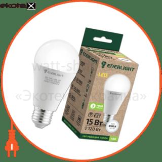 лампа світлодіодна enerlight a60 15вт 4100k e27 светодиодные лампы enerlight Enerlight A60E2715SMDNFR