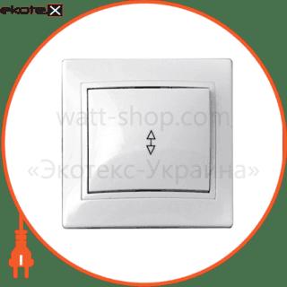 выключатель 1-кл. проходной ввпсб10-1-0-fl-w арт. ввпсб10-1-0-fl-w выключатель АСКО-УКРЕМ