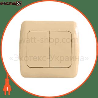 BBсб10-2-0-Sq-I АСКО-УКРЕМ выключатель выключатель 2-кл. bbсб10-2-0-sq-i