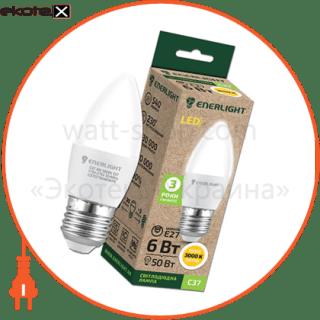 C37E276SMDWFR Enerlight светодиодные лампы enerlight лампа світлодіодна enerlight с37 6вт 3000k e27