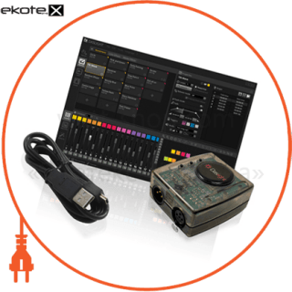 CDMX01 Люмьер комплектуюшие контроллер для гирлянд, daslight dvc3 gzm