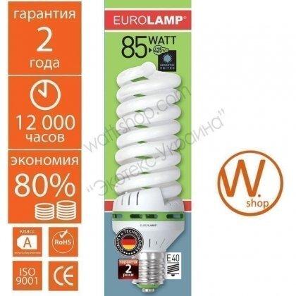 t5 spiral 85w 6500k e40 энергосберегающие лампы eurolamp Eurolamp HB-85406