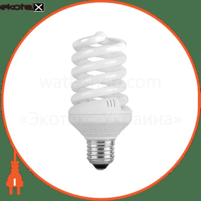 т2 full spiral 30w 6400k e27 энергосберегающие лампы delux Eurolamp