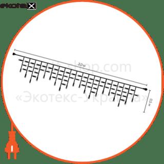 EL205-76C Люмьер конструкции наружная уличная гирлянда-сталактит stalactite light (icicle) на резиновом кабеле el205-76c