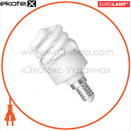 ES-07144 Eurolamp энергосберегающие лампы eurolamp t2 spiral 7w e14 4100k