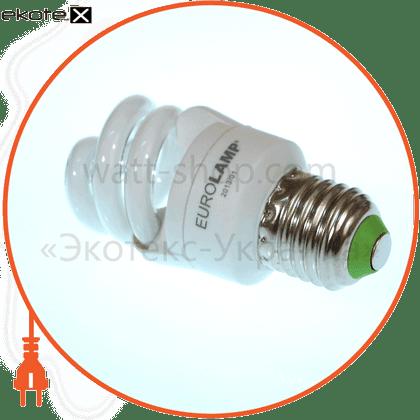 t2 spiral  7w e27 4100k энергосберегающие лампы eurolamp Eurolamp ES-07274
