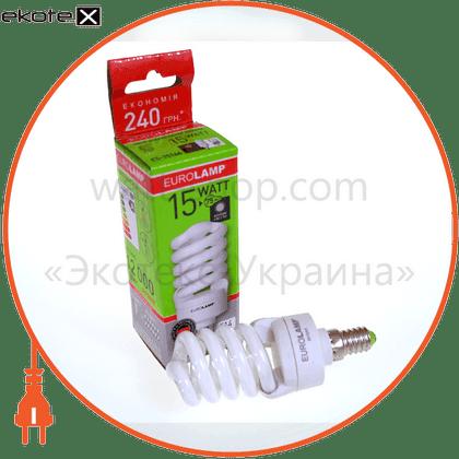 ES-15144 Eurolamp энергосберегающие лампы eurolamp t2 spiral 15w e14 4100k
