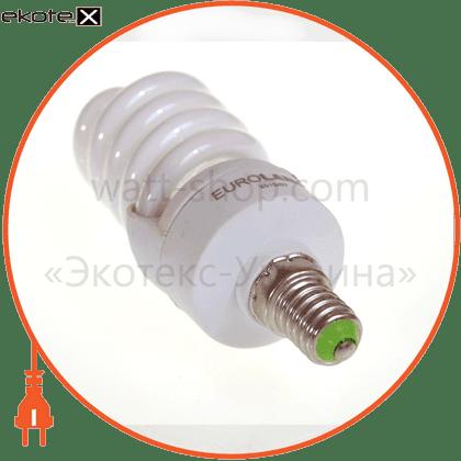 t2 spiral  15w e14 4100k энергосберегающие лампы eurolamp Eurolamp ES-15144