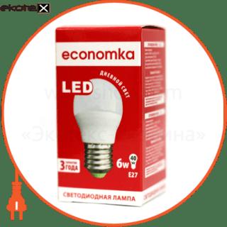 LED G45 6w E27-4200 Экономка светодиодные лампы экономка led лампа economka led g45 6w e27-4200